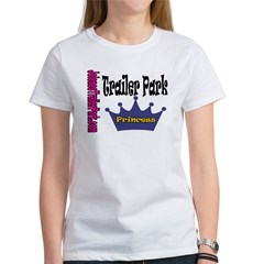 JTP Logo Trailer Park Princes Women's T-Shirt