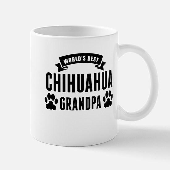 Worlds Best Chihuahua Grandpa Mugs
