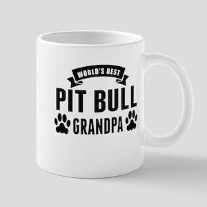 Worlds Best Pit Bull Grandpa Mugs