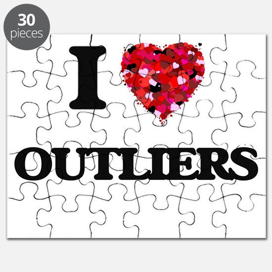 I Love Outliers Puzzle