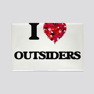 I Love Outsiders Magnets
