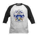 Espargosa Family Crest Kids Baseball Jersey