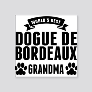 Worlds Best Dogue de Bordeaux Grandma Sticker