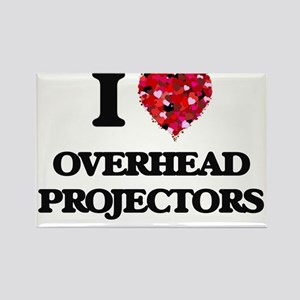 I Love Overhead Projectors Magnets