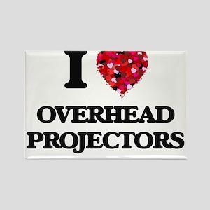 I Love Overhead Projectors Magnets