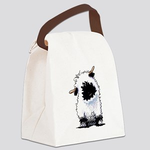 Valais Blacknose Sheep Canvas Lunch Bag