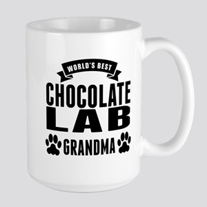 Worlds Best Chocolate Lab Grandma Mugs