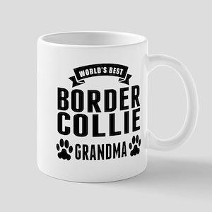 Worlds Best Border Collie Grandma Mugs