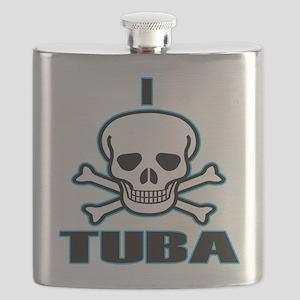 I Hate Tuba Flask