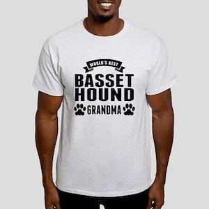 Worlds Best Basset Hound Grandma T-Shirt