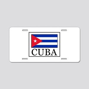 Cuba Aluminum License Plate