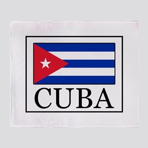 Cuba Throw Blanket
