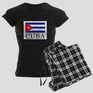 Cuba Women's Dark Pajamas
