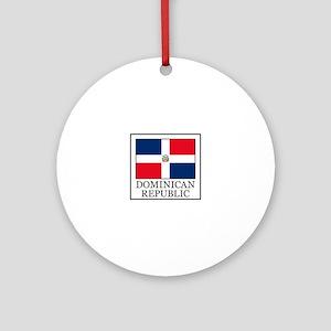 Dominican Republic Ornament (Round)