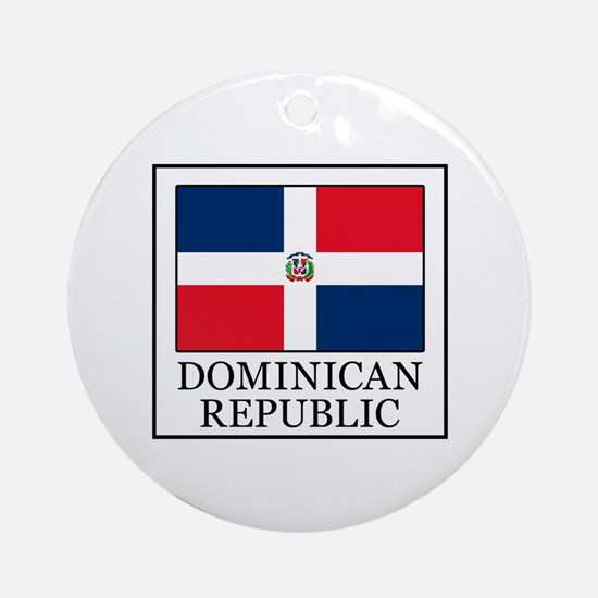 Dominican Republic Ornament (Round)