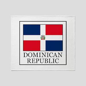 Dominican Republic Throw Blanket