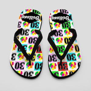 30th Celebration Flip Flops