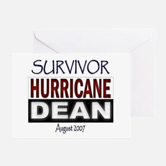 Survivor Hurricane Dean Greeting Card