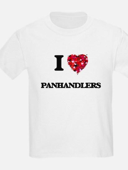 I Love Panhandlers T-Shirt