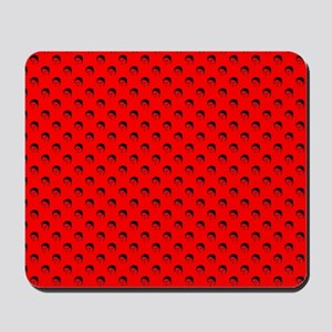 red frida kahlo Mousepad