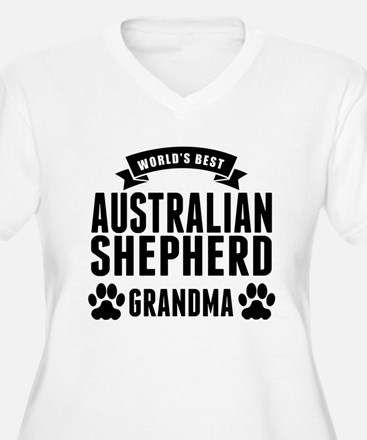 Worlds Best Australian Shepherd Grandma Plus Size