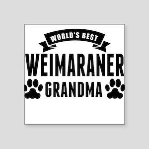 Worlds Best Weimaraner Grandma Sticker