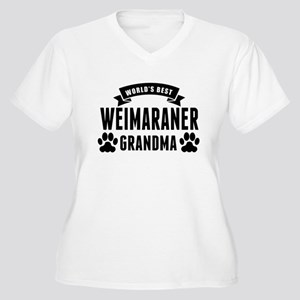 Worlds Best Weimaraner Grandma Plus Size T-Shirt