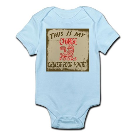 My Chinese Food T-Shirt Infant Bodysuit