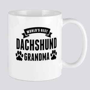 Worlds Best Dachshund Grandma Mugs