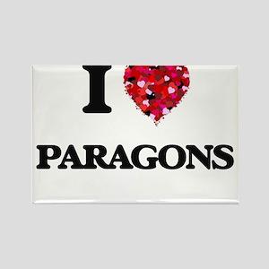 I Love Paragons Magnets