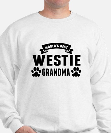 Worlds Best Westie Grandma Sweatshirt