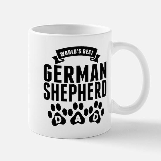 Worlds Best German Shepherd Dad Mugs