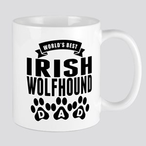 Worlds Best Irish Wolfhound Dad Mugs