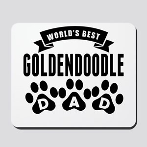 Worlds Best Goldendoodle Dad Mousepad