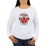Cubelos Family Crest Women's Long Sleeve T-Shirt