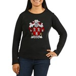 Cubelos Family Crest Women's Long Sleeve Dark T-Sh