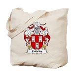 Cubelos Family Crest Tote Bag