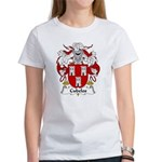 Cubelos Family Crest Women's T-Shirt