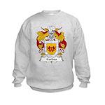 Cordes Family Crest Kids Sweatshirt