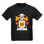 Cordes Family Crest Kids Dark T-Shirt