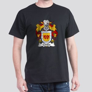 Cordes Family Crest Dark T-Shirt