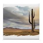 Early Desert Tile Coaster