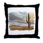 Early Desert Throw Pillow