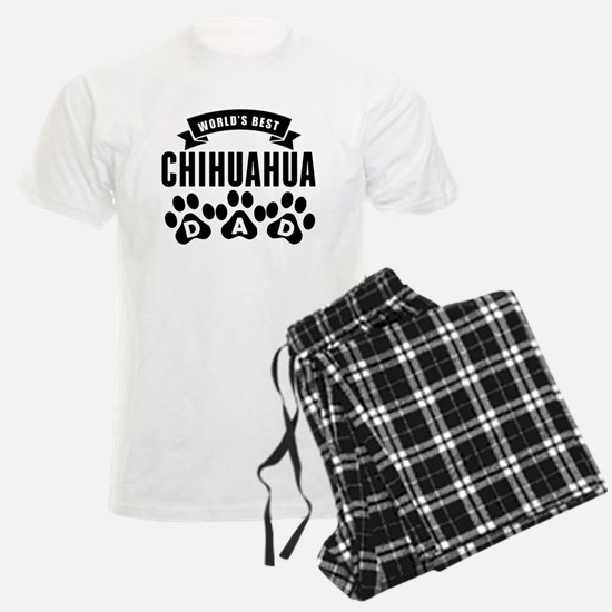 Worlds Best Chihuahua Dad Pajamas