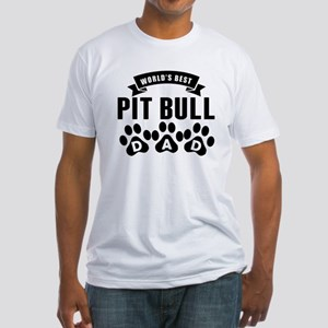 Worlds Best Pit Bull Dad T-Shirt