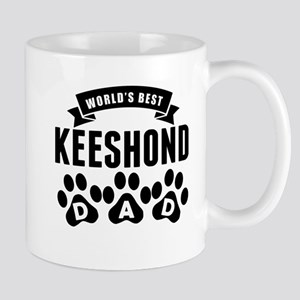 Worlds Best Keeshond Dad Mugs