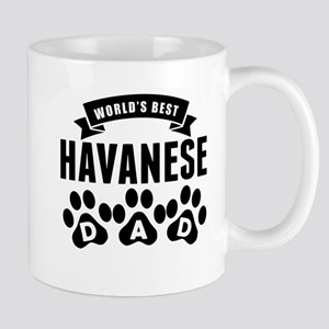 Worlds Best Havanese Dad Mugs