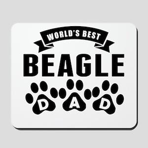 Worlds Best Beagle Dad Mousepad