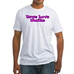 True Love Waits Christian Fitted T-Shirt