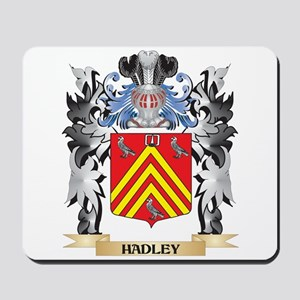 Hadley Coat of Arms - Family Crest Mousepad